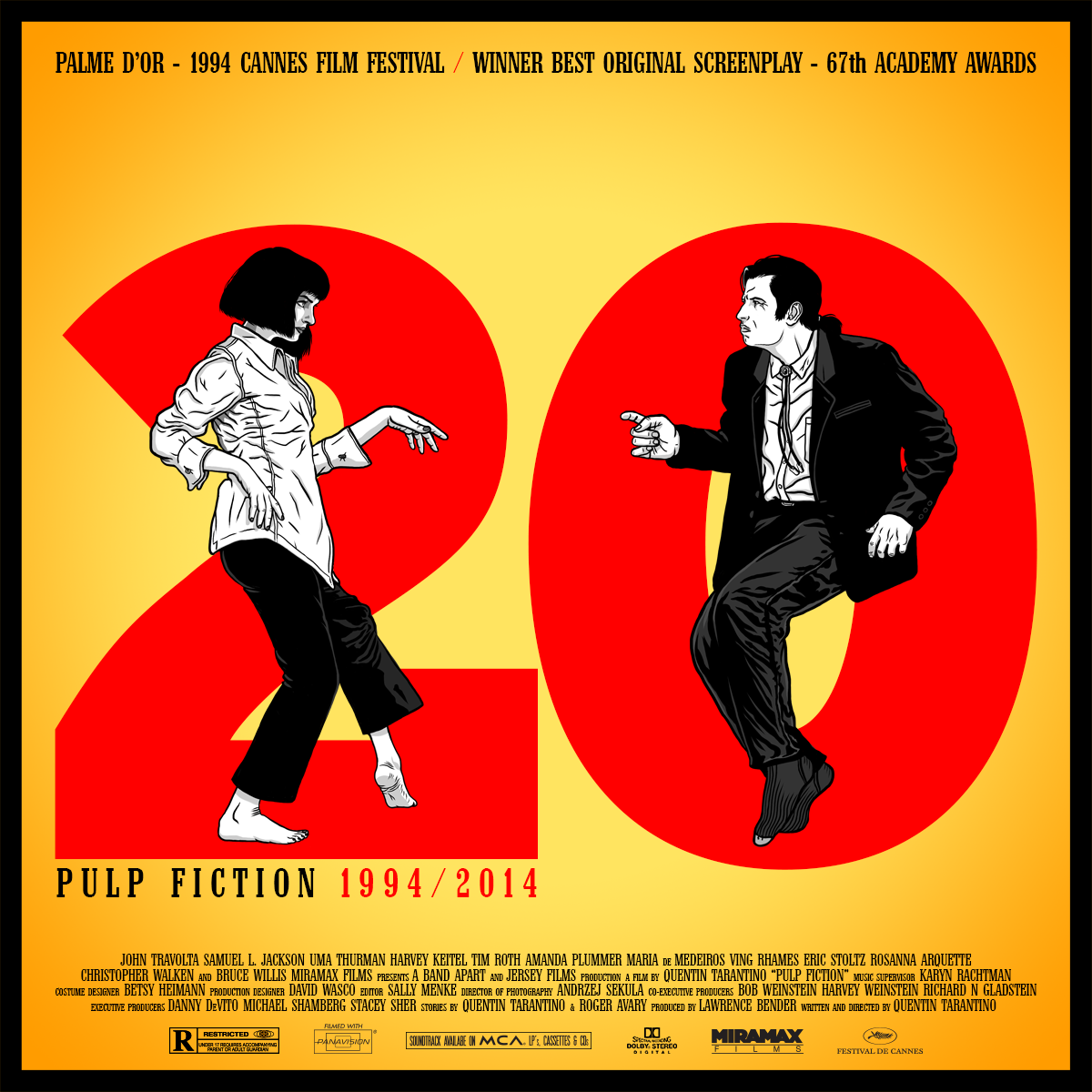 Pulp Fiction 20th Anniversary